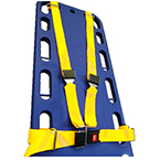 BioThane G1 Shoulder Harness Restraint System, Metal Push Button Buckle, Metal Loop Ends, Yellow
