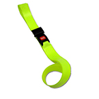 BioThane G1 Extension Strap, 1 pc, 2ft, Plastic Side Release Buckle, Orange