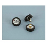 Brass Regulator Gauge and Cover, Pack Of 3