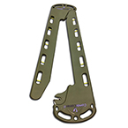 Backboard/Split Litter, Tactical CombiCarrier II, OD Green, incl 4 two-piece Speed Clip Straps