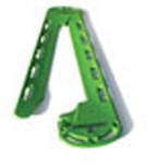 CombiCarrier II Backboard/Split Litter, w/Four 4 Foot Speedclips Straps, Green