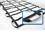 MegaMover Portable Transport Unit, w/PowerGrips, Nonwoven Poly, White, 40in x 80in