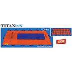 Taylor TITANPCX, Limited Use Soft Stretcher, 40 inch x 80 inch, Orange