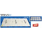 Taylor TITANPC, Limited Use Soft Stretcher, 40 inch x 80 inch, White