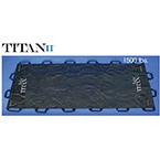 Taylor TITAN II, Reusable Soft Stretcher, 40 inch x 80 inch, Black