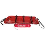Med Sled, Tactical Rescue, 30in, Red