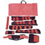 Fracture Kit, incl Splints,Immobilizer, Extrication Collar w/Neck Pad, Carry Bag