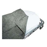 Blanket, Disposable, Poly, 60inch x 80inch, Grey