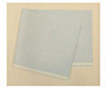 Drape Sheet, Tissue, Poly Backed, 40inch x 90inch, Blue