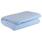"""Curaplex Blanket, 100% Polyester, Blue, 72"""" x 90"""""""