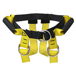 Lift Assist Harness, Doty Belt, Four Handle, up to 45 in Circumference, with Mesh Bag, Regular, Yellow
