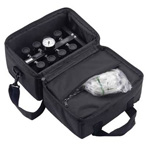 Replacement Carrying Case for OCTI-FLO2 Manifold, Soft Sided, Black
