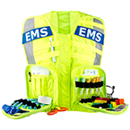G3 Advanced Safety Vest, Fluorescent w/EMS Name Plate