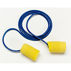 Ear Plugs, Disposable, 29 dB Rating, Cord