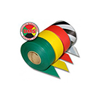 Triage Ribbon, 4/pk includes Red, Yellow, Green and Black/White