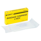Compression Bandage, Sterile, 4inch, 1/bx
