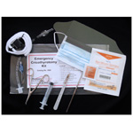 Field Cricothyrotomy Kit, 12cc Syringe, 6inch Dilator, 6 1/2inch Retractor, Stabilizer, Tube 5.5mm