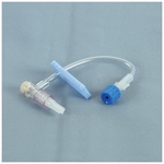 IV Extension Set, Standard Bore,  T-Connector, w/Interlink T-Connector Inj Site, 5inch
