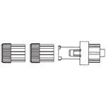 SAFSITE Valve Needle-Free System, Luer Taper Operated, Normally Closed, DEHP-Free