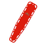 Ultra-Vue 16 Backboard, 72inch x 16inch x 1 3/4inch, Includes Pins, Red