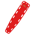 Base Board, 72inch x 16inch x 1 3/4inch, With Pins, Red