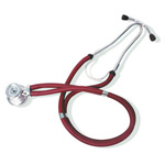 Curaplex Stethoscope, Sprague Rappaport Type, Red