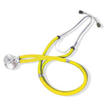 Curaplex Stethoscope, Sprague Rappaport Type, Yellow