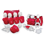 Buddy Classroom Pack, incl. 5 Basic Buddy and 5 Baby Buddy, Carrying Cases