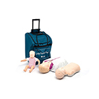 Little Family CPR Training Pack, Light Skin, incl Little Anne, Little Jr, Baby Anne Manikins