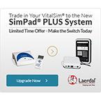 VitalSim to SimPad PLUS System Bundle Upgrade Offer