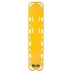 Curaplex Trauma Backboard, Without Pins, Yellow *Limited QTY*