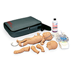 Nita Newborn Venous Access Simulator, with Body, Vein Tubing, Blood Bag, Concentrate, Case, Manual