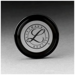 Tunable Diaphragm and Rim Assembly, Black Rim, For Littmann Master Cardiology Stethoscope *Discontinued*