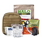 Curaplex Individual Trauma MOLLE Kit, Coyote Pouch