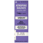 Atropine, 1mg, 10ml LifeShield Prefilled Syringe