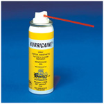 Hurricaine Topical Anesthetic Spray, w/1 Extension Tube, 2oz