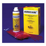 Hurricaine Spray, w/200 Extension Tubes, Cherry
