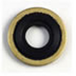 Inovo Yoke Seal Washer, Brass/Viton, 25/pk