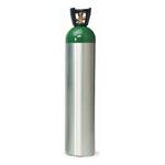 Oxygen Cylinder, Aluminum, MM, 122 cubic feet