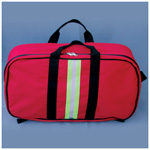 First Responder Kit, 21 1/2inch x 6inch x 12 1/2inch, Red