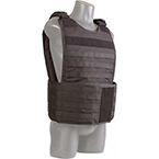 Tactical Responder Vest MKII with Side Armor, Black, Soft Armor