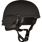 Helmet, Batlskin Viper A3 with MSS, Black, SM
