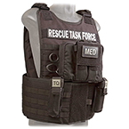 Rescue Task Force Vest Kit with Side Armor, Coyote