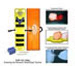 Pedi-Air-Align Immobilization Board System, 48inch x 12inch x 1 3/4inch, Yellow