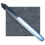Metalite Reusable Penlight, 6inch L x 1/2inch D, Brushed Aluminum Housing, incl 2 AAA Batteries