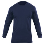 5.11 Men Utili-T T-Shirt, Long Sleeve ( 2-Pack) - Dark Navy, MED