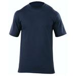 5.11 Men Station Wear T-Shirt, Short Sleeve, Fire Navy, SM