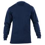 5.11 Men Station Wear T-Shirt, Long Sleeve, Fire Navy, SM