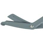 Scissors, Bandage and Utility, Needle Destroyer, Serrated Blade, Autoclavable, 7 ½ inch,  19.1cm