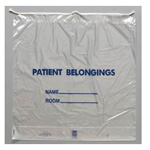 Patient Belongings / Possessions Bag, 20in x 20in